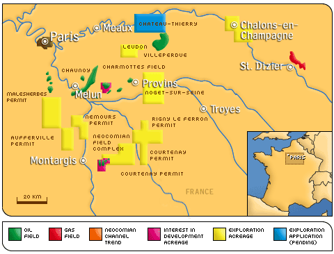 Natural Resources Used In France
