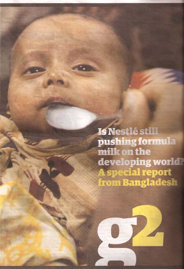 case study of nestle the infant formula incident Nestle case study question 1: analyze nestlé using the competitive forces and value chain models what challenges did nestlé face nestlé, shortly.
