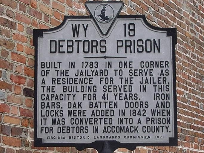 debtors prisons have returned to the US