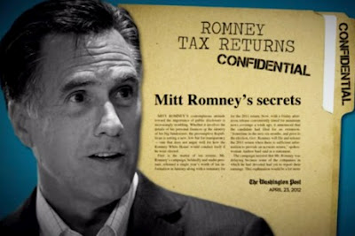 romney refuses to show tax records