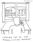 writer's block cartoon