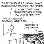 XKCD-Cartoon