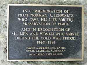 Memorial plaque in Lexington, Ky.