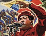 Hugo Chavez election poster