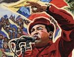 Hugo Chavez election poster