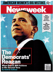 Newsweek - Obama - The Democrats Reagan