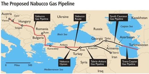 A stumbling block to Nabucco project