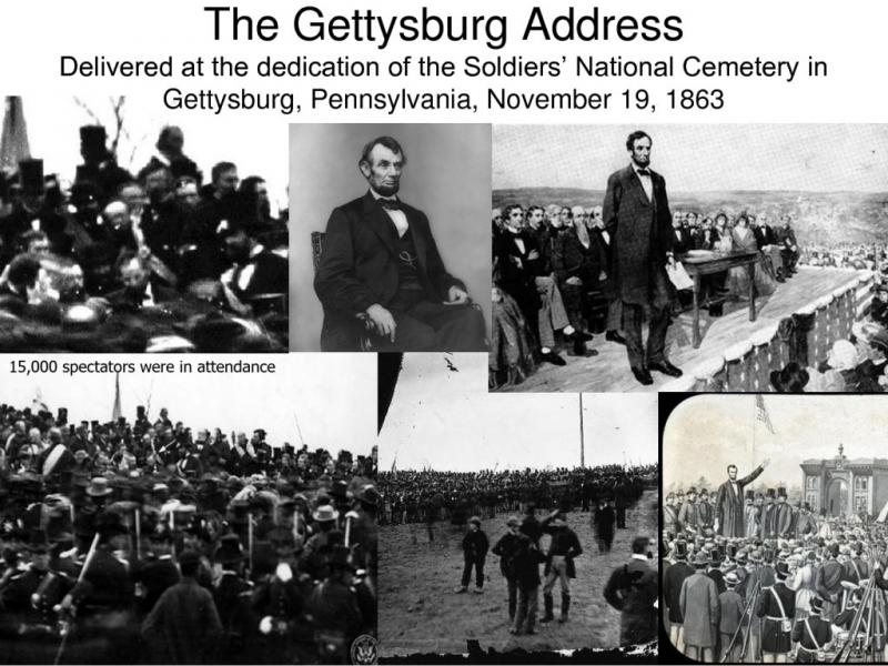the effective use of devices in abraham lincolns speech the gettysburg address The gettysburg address is one of the greats lincoln took his audience on a journey that began the gettysburg address is certainly a great speech whether it qualifies is literature is open to without it, we have the rhetorical device, polysyndeton, which is very powerful when used properly.