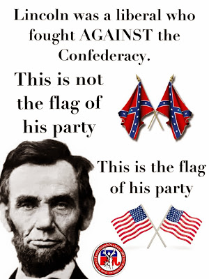 flag+of+lincoln's+party