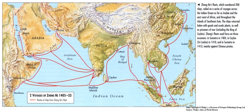Image result for Voyages_of_Zheng_He_1405-33