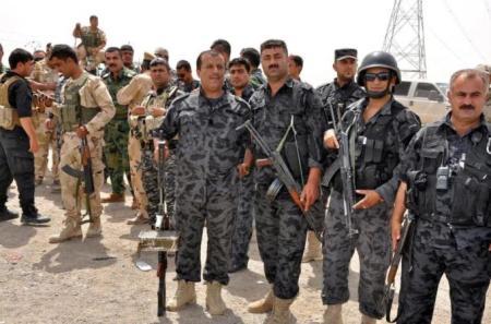 Kurdish Peshmerga in Kirkuk