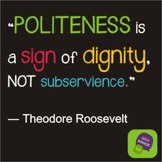 TRpoliteness