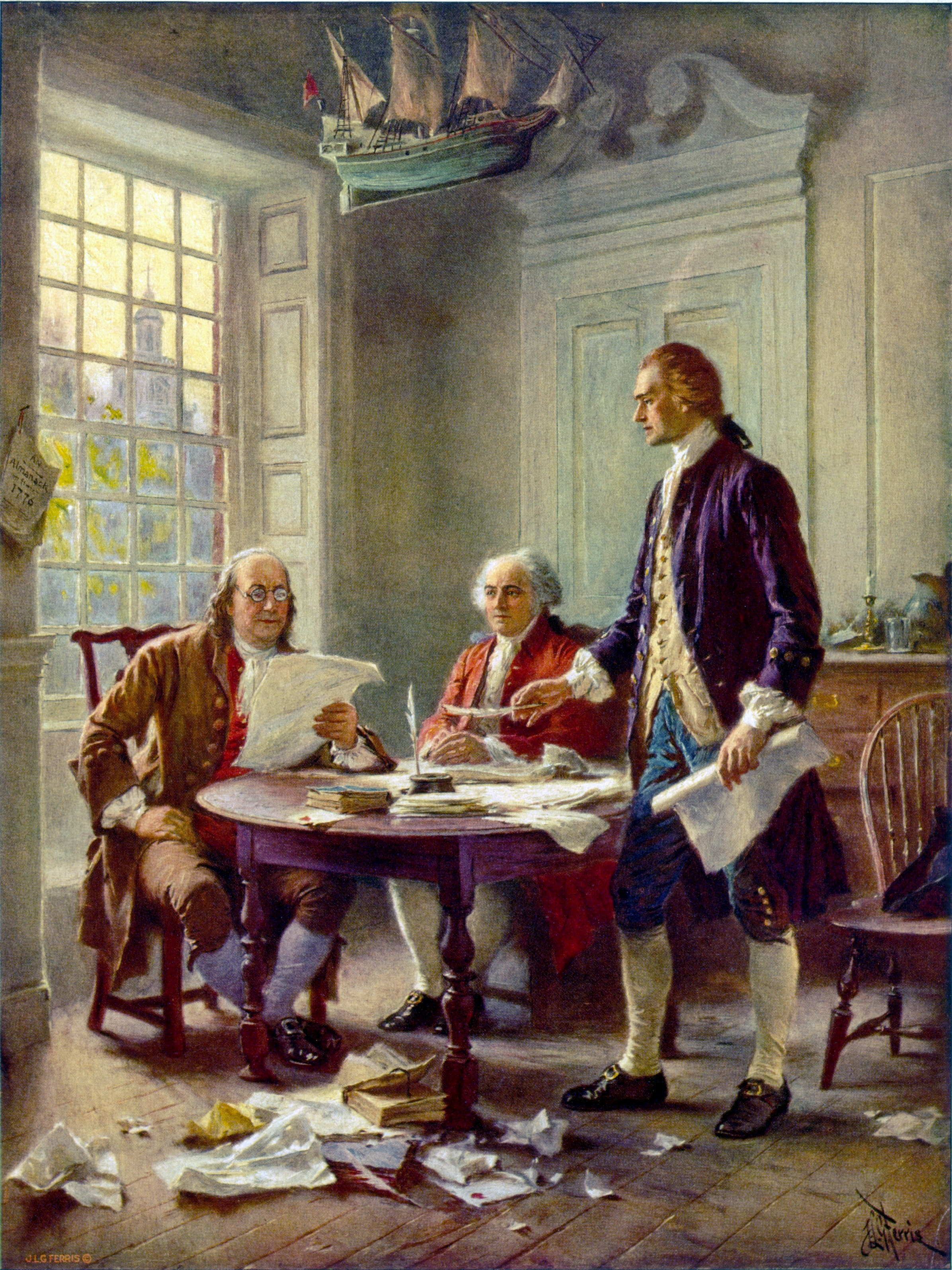 Writing an essay about the principles in the declaration of independence?
