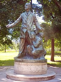 Altgeld monument in Chicago
