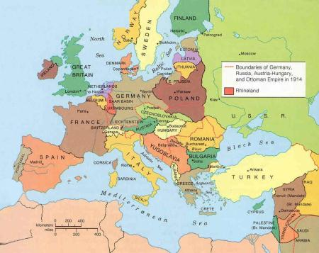 Russia in Europe 1923