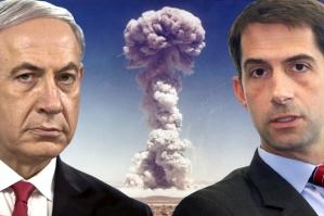 P.M. Benjamin Netanyahu and Sen. Tom Cotton