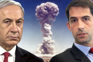 P.M. Benjamin Netanyahu and Sen. Tom Cotton