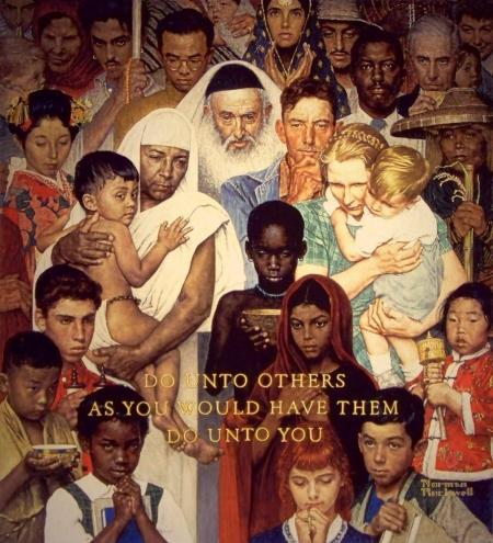 Rockwell_1961_The Golden Rule
