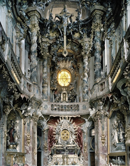 Asam Church in Munich, Germany