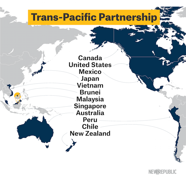 controversial trans pacific partnership agreement - 640×610