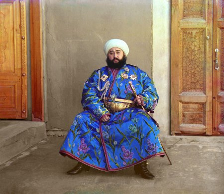 Alim Khan, Emire of Bukhara (1911)