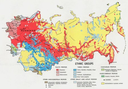 map of ethnic russians
