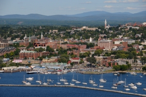 Burlington, Vermont, today.