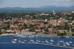 Burlington, Vermont, today.