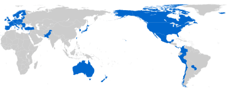 Negotiators of Trade in Services Agreement