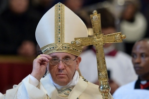Pope Francis (TIZIANA FABI/AFP/Getty Images)