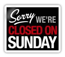 Closed-on-Sunday