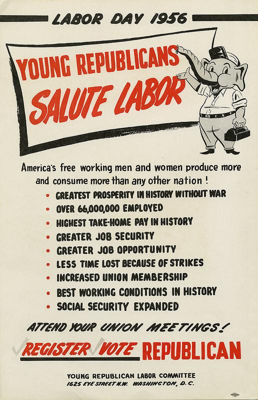 GOP Labor Day 1956