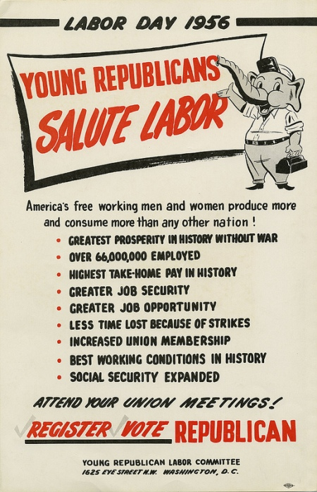 GOP Labor Day 1956