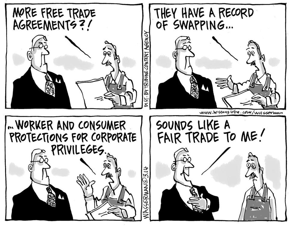 Free Trade Fair Trade And Economic Nationalism Phil Ebersoles Blog