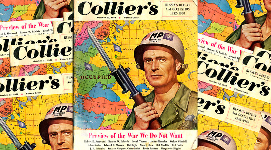 Colliers' magazine cover in 1951