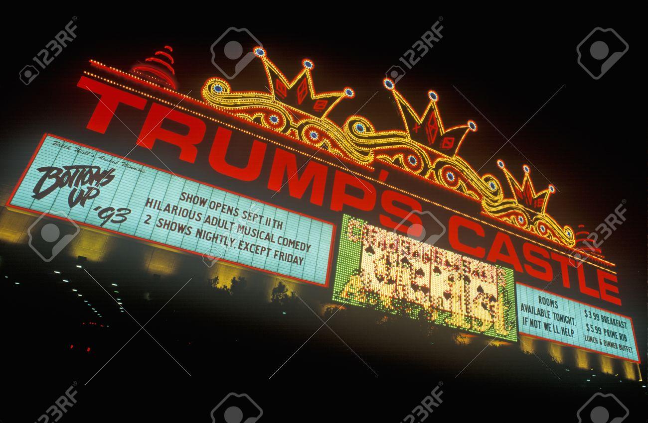 Trump's Castle Casino on Atlantic City Boardwalk