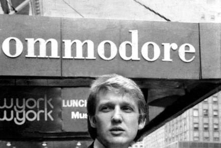 Donald Trump in New York City, 1976