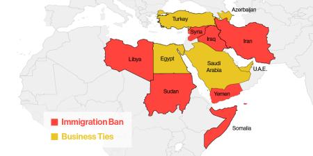 Trump immigration ban vs. his business interests