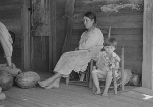 Alabama sharecropper family 1930s
